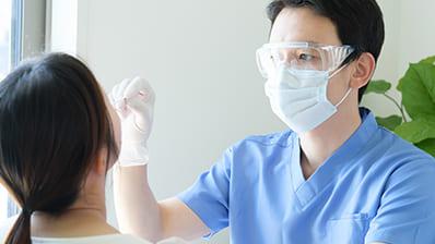 """新型コロナウイルス<br class=""""u-br__pc"""">PCR検査(法人可)"""